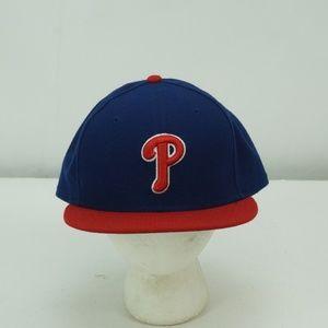 MENS NEW ERA 59 FIFTY MLB PHILADELPHIA  HAT